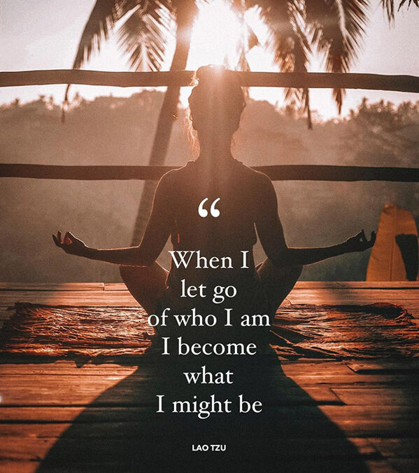 Let Go to Become Who You Might Be